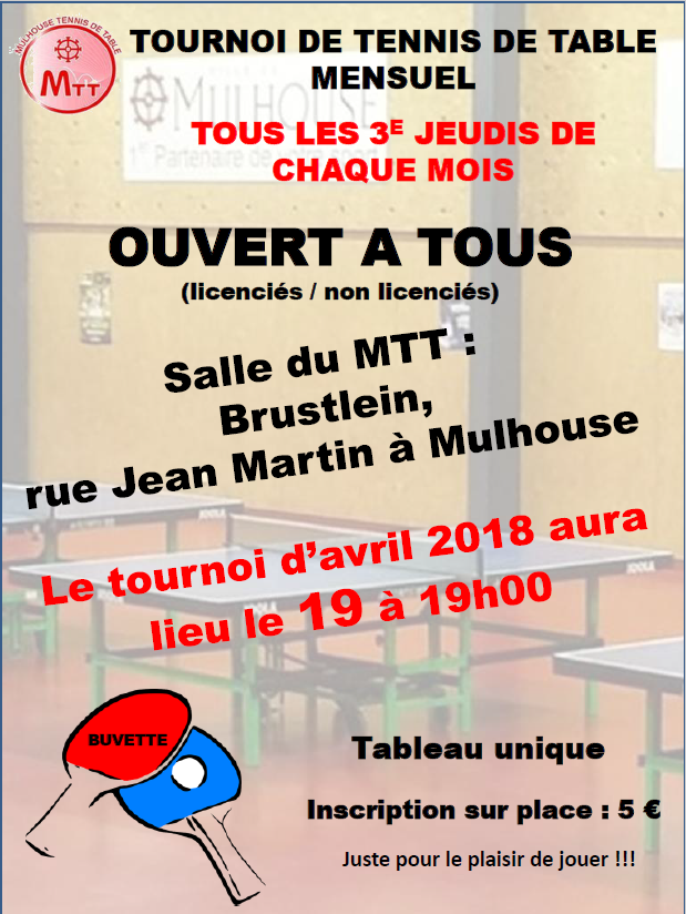 Tournoi avril MTT